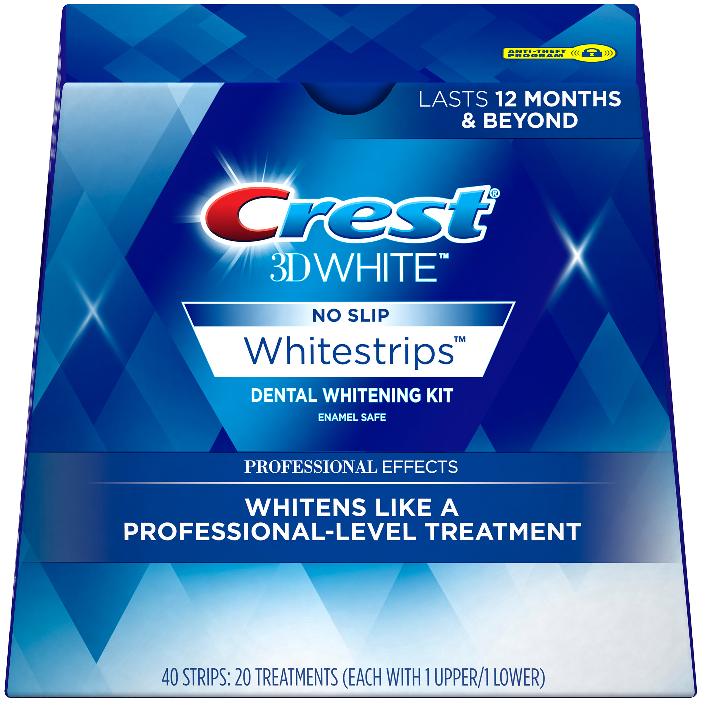 Crest 3D White Luxe Professional Effects Whitestrips Teeth Whitening Kit