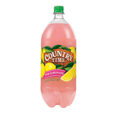 Country Time Pink Lemonade Natural Lemon Non-Carbonated Drink