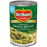 Del Monte® Seasoned Vegetables Pickled Green Beans with Dill Flavor