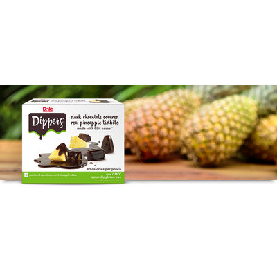 Dole Dippers Dark Chocolate Covered Real Pineapple Tidbits
