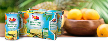Dole Pine-Orange Banana Juice