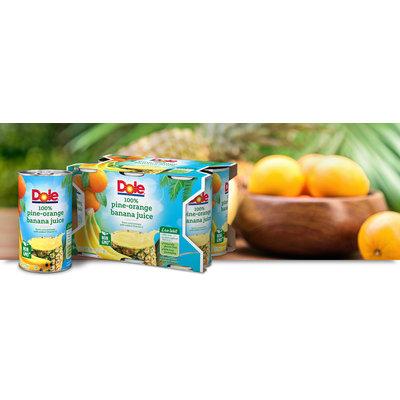 Dole Pine-Orange Banana Juice