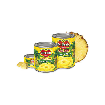 Del Monte® Pineapple Slices in 100% Juice