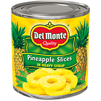 Del Monte® Pineapple Slices in Heavy Syrup