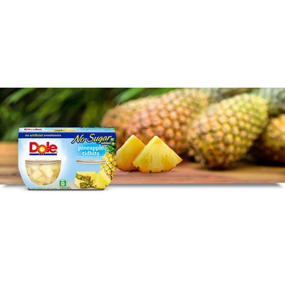 Dole Pineapple Tidbits No Sugar Added