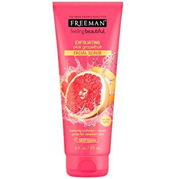 Freeman Feeling Beautiful Facial Exfoliating Scrub Pink Grapefruit