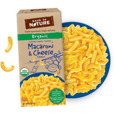 Back To Nature Organic Macaroni & Cheese Dinner