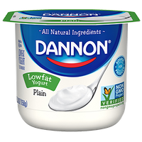 Dannon® All Natural Plain Lowfat Yogurt