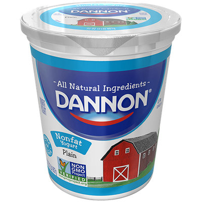 Dannon® All Natural Plain Nonfat Yogurt