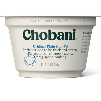 Chobani® Plain Non-Fat