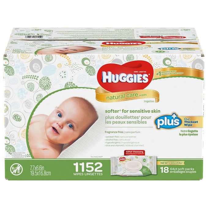 Huggies® Natural Care Plus Wipes