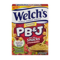 Welch's® Creamy Strawberry PB&J Snacks