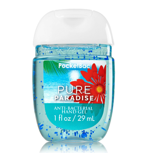 Bath & Body Works Pure Paradise PocketBac Hand Gel