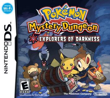 Pokemon Mystery Dungeon: Explorers of Darkness (Nintendo DS)