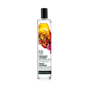 The Body Shop Pomegranate & Raspberry Body, Room & Linen Spritz 100 ml