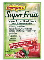 Emergen-C Super Fruit Pomegranate Power