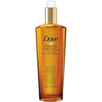 Dove Pure Care Dry Oil Restorative Hair Treatment With Pomegranate Seed Oil