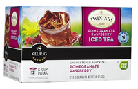 TWININGS® OF London Pomegranate & Raspberry Iced Tea K-Cup® Pods
