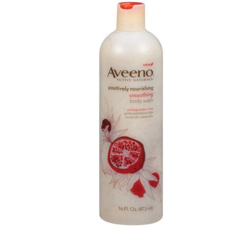 Aveeno® Active Naturals Active Naturals Positively Nourishing Pomegranate + Rice Smoothing Body Wash