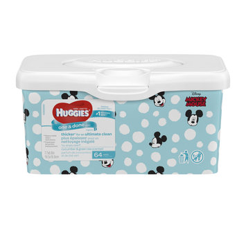 Huggies® One & Done Refreshing Pop Up Tub Baby Wipes