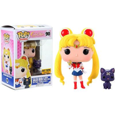 Funko POP! Animation Sailor Moon with Moon Stick & Luna Vinyl Figure