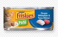 Friskies® Classic Pate Ocean Whitefish & Tuna Dinner Cat Food