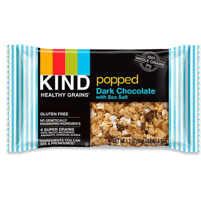 KIND® Popped Dark Chocolate With Sea Salt