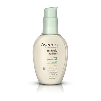 Aveeno® Positively Radiant Daily Moisturizer, SPF 15 4oz