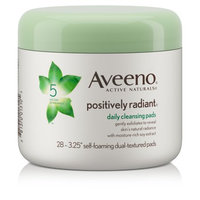 Aveeno®  Positively Radiant Exfoliating Daily Cleansing Pads