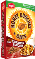 Honey Bunches of Oats with Cinnamon Bunches