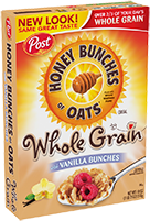 Honey Bunches of Oats with Vanilla Bunches