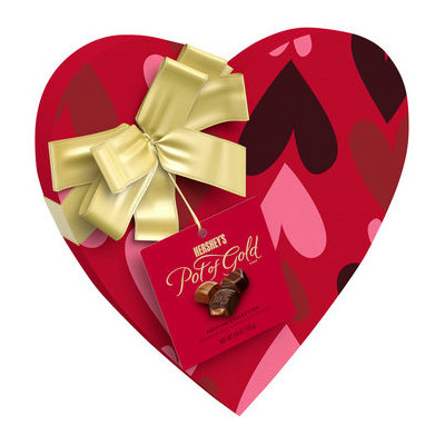 Hershey's Pot Of Gold Premium Red Swirl Heart Collection