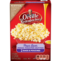 Orville Redenbacher's Gourmet Pour Over Movie Theater Butter Microwave Popcorn