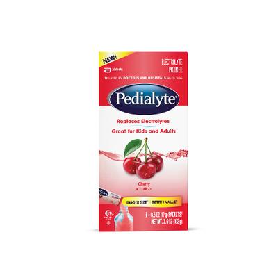 Pedialyte® Powder Packs Cherry