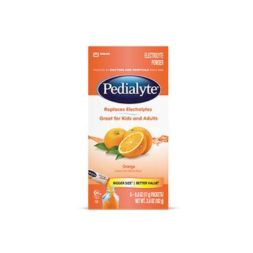 Pedialyte® Powder Packs Orange