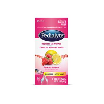 Pedialyte® Powder Packs Strawberry Lemonade