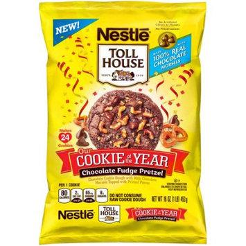 Nestle Tollhouse Chocolate Fudge Pretzel Cookie Dough