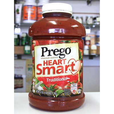 Prego Traditional Italian Sauce, Heart Smart, 67 oz (1.9 kg)