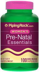 Piping Rock Prenatal Vitamins 100 Capsules