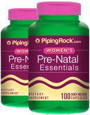 Piping Rock Prenatal Essentials 2 Bottles x 100 Capsules