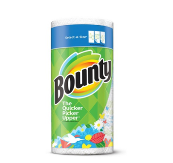 Bounty Prints Select-A-Size Paper Towels
