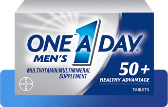 One A Day® Men's 50+ Healthy Advantage