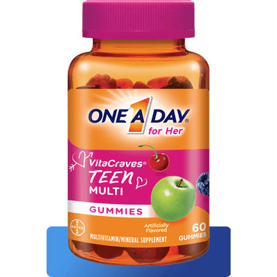 One A Day® Teen for Her VitaCraves® Gummies