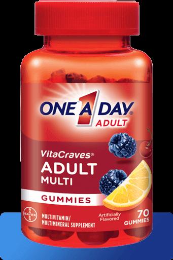 One A Day® VitaCraves® Regular Gummies