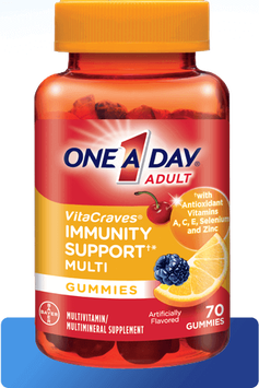 One A Day® VitaCraves® Gummies with Immunity Support
