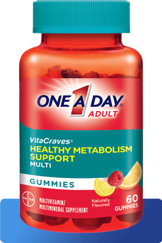 One A Day® VitaCraves® Gummies With Healthy Metabolism Support