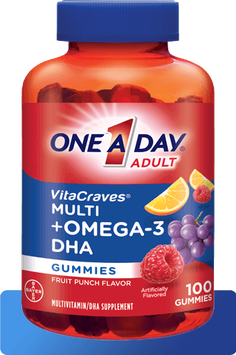 One A Day® VitaCraves® Gummies Plus OMEGA-3 DHA