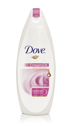 Dove Cream Oil Cherry Blossom & Almond Scent Body Wash
