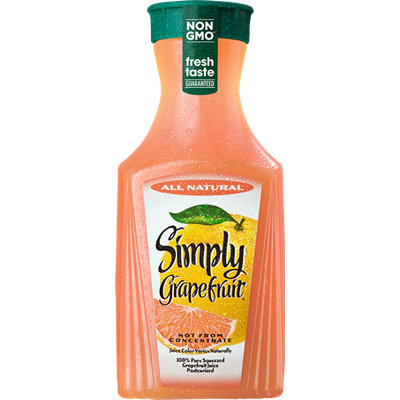 Simply Grapefruit All Natural Grapefruit Juice