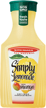 Simply Lemonade® All Natural with Mango Juice